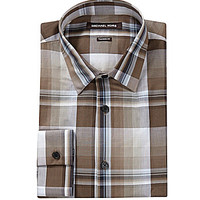 Michael Kors Yardley Plaid Print Shirt - Teak