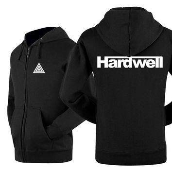 New 2017 Winter Punk Jackets Coats Brand Casual Cotton Hip Hop Hardwell Rock Band Cool Mens Hoodies And Sweatshirts Size 3XL