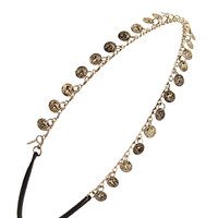Etched Coins Headband