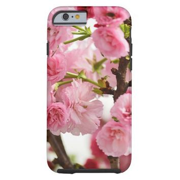 Pink Cherry Blossoms Tough iPhone 6 Case