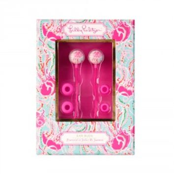 Lilly Pulitzer Earbuds - Jellies Be Jammin