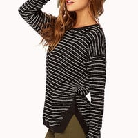 Dressed Up Striped Sweater