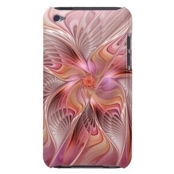 Abstract Butterfly Colorful Fantasy Fractal Art iPod Touch Cover