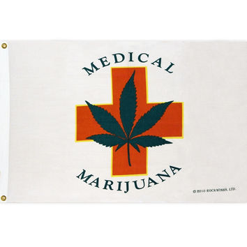 Medical Marijuana Grow Flag
