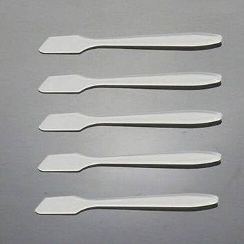Plastic Spoon For Cream Mixing Spatulas Spoon Stick Makeup DIY Tools Accessories