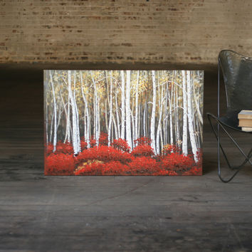Oil Painting - Birch Forest 31.5x47