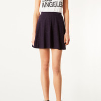 Purple Speckle Skater Skirt - Skirts - Clothing - Topshop USA