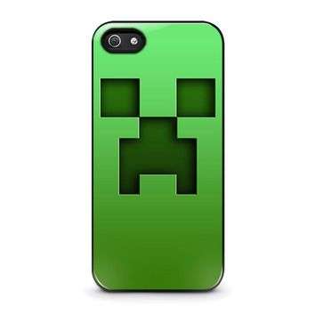 CREEPER MINECRAFT iPhone 5 / 5S / SE Case Cover