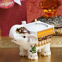Fashioncraft Good Luck Elephant Candle Holders