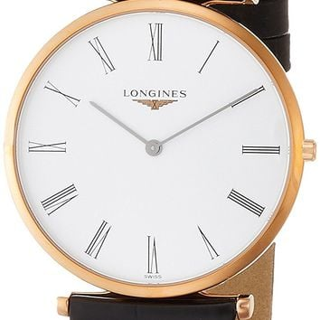 Longines La Grande Classique White Dial Ladies Leather Watch L47551912
