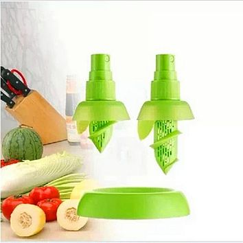 Creative Lemon Lime Juicer Spritzer Sprayer - 2Pcs/Set