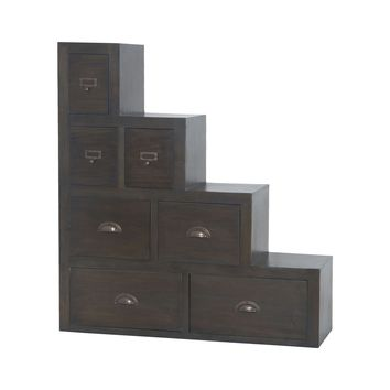 Vitruvius Chest In Heritage Grey Stain Heritage Grey Stain