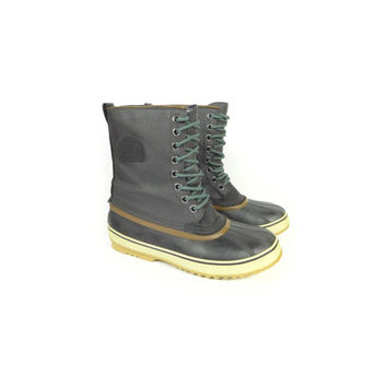 SOREL men's 1964 premium t cvs boot  / black / duck boots / size 10