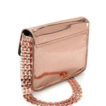 CHANEEY - Bow chain evening bag - Rose Gold | Womens | Ted Baker UK