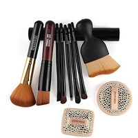 Amazon.com: Coshine Contouring Kabuki Makeup Brush Set With Latex Free Sponge Set