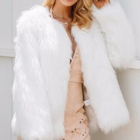Zoey Faux Fur Coat