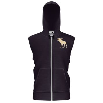 Pines and Paddles Moose Shed Hunting Hoodie vest
