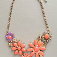 French Bloosoms Necklace