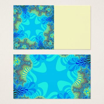 Coral Reef Star Business Cards