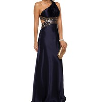 Cleopatra- Navy Homecoming Dress