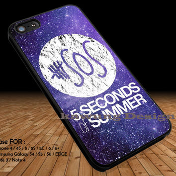 5 Seconds of Summer Galaxy DOP1162 iPhone 6s 6 6s+ 5c 5s Cases Samsung Galaxy s5 s6 Edge+ NOTE 5 4 3 #music #5sos