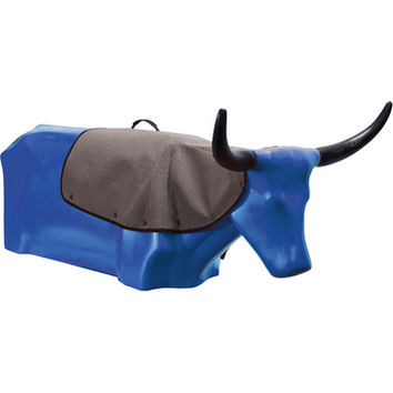 Rope O'Matic Jakesteer Roping Dummy Royal Blue