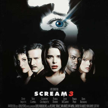 Scream 3 11x17 Movie Poster (2000)