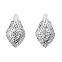 Diamond Fashion Stud Earrings 3/4ctw
