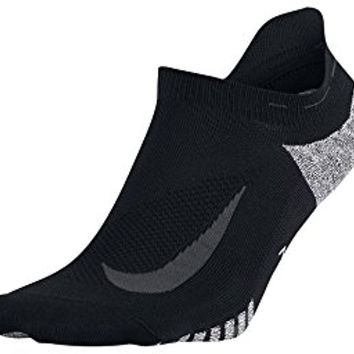 Nike Men's Elite Lightweight No-Show Tab Running Socks