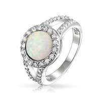 Bling Jewelry Opal the Moon Ring