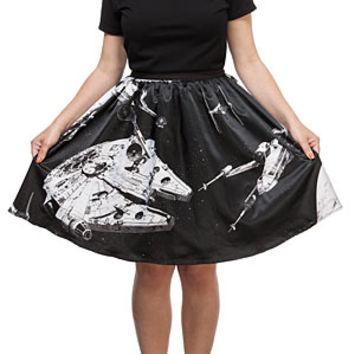 Star Wars Space Collage Skirt - Exclusive
