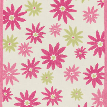 "Loloi Rugs - Piper - 5'-0"" X 7'-0"" - Pink / Green"