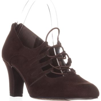 Easy Street Jennifer Oxford Pumps, Brown, 9 US