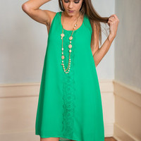 Easy Sway Out Dress, Green