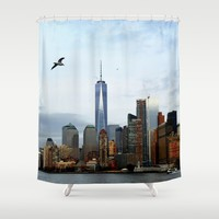New York Shower Curtain by Haroulita | Society6