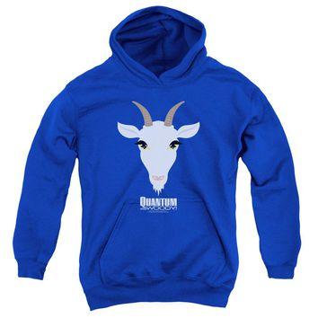 Quantum And Woody - Goat Head Youth Pull Over Hoodie
