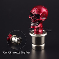 Car Lighter Skull And Crossbones Design Skull Heads Power Plug Heater Car