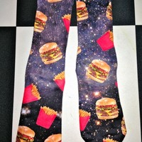 SWEET LORD O'MIGHTY! FASTFOOD HOE SOCKS