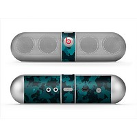 The Teal Vector Camo Skin for the Beats by Dre Pill Bluetooth Speaker