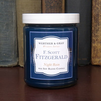F. SCOTT FITZGERALD, Scented Candle, 8oz Jar