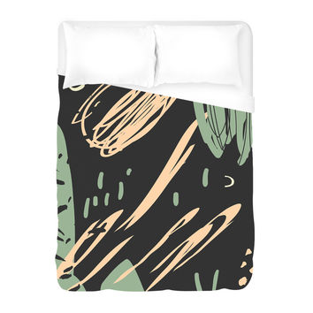 Information of Peace Duvet Cover