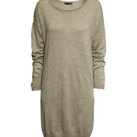 Fine-knit Dress - from H&M