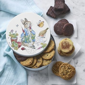 Peter Rabbit Cookie & Brownie Tin