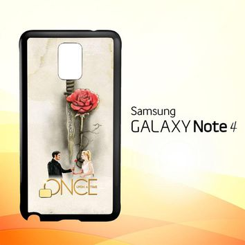 Once Upon A Time Rose X3423  Samsung Galaxy Note 4 Case