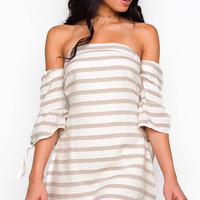 Seize The Daisies Off The Shoulder Dress