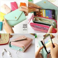 Multicolored Crown Smart Pouch