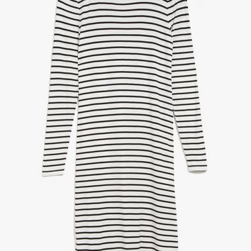All Night Striped Dress