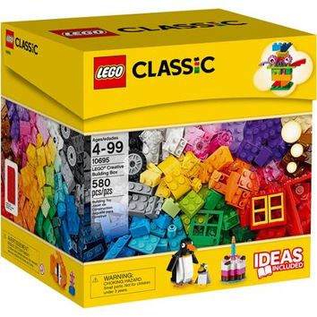 LEGO Creative Building Box, 580 pcs - Walmart.com