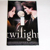 Light Switch Cover - Light Switch Plate Twilight Movie Poster