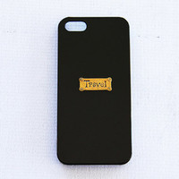 iPhone 4s Black 5c Cases Black iPhone 4/4s Gold Samsung Galaxy S3 Case Black iPhone5s Trendy Hipster Travel Case iPhone Hard Shell